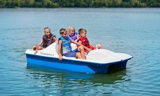 Sundolphin 5 Paddle Boat Rental in Thury-Harcourt, France