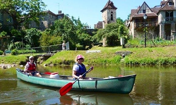 Tandem Canoe Rental in Thury-Harcourt, France