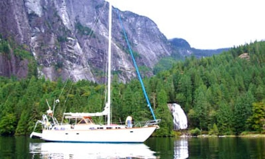 42' Sloop Charter In North Vancouver, British Columbia
