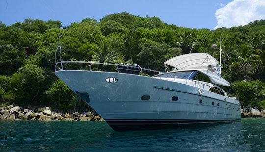 Enjoy 65' Motor Yacht Charter In Puerto Vallarta, Jalisco