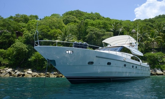 Enjoy 65' Motor Yacht Charter In Puerto Vallarta, Jalisco