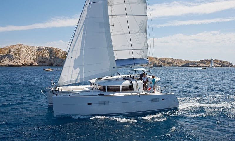 "Charter ""M&M"" Lagoon 400 Catamaran In Can Pastilla"