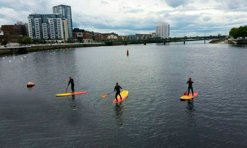 SUP Lessons and City Tours in Limerick, Ireland