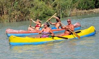 Canoe Tours in Patara Beach, Turkey