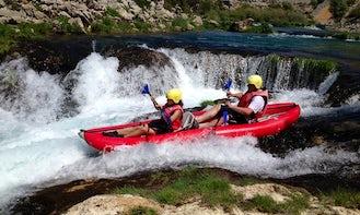 Kayak Safari Trips in the Zrmanja River