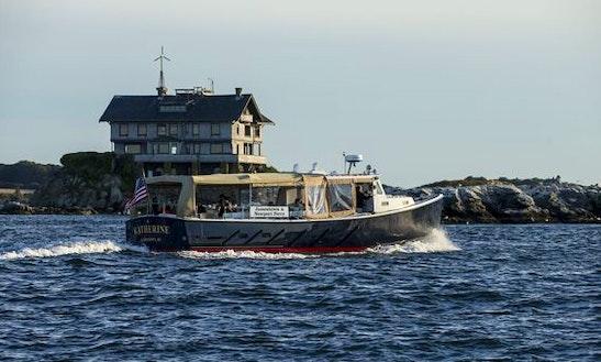 Charter 46ft 'katherine' Passenger Boat In Jamestown, Rhode Island