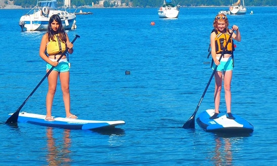 Sup Rental And Guided Tour In North Saanich