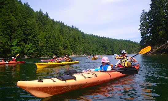 Tandem Kayak Rental & Tour In North Saanich