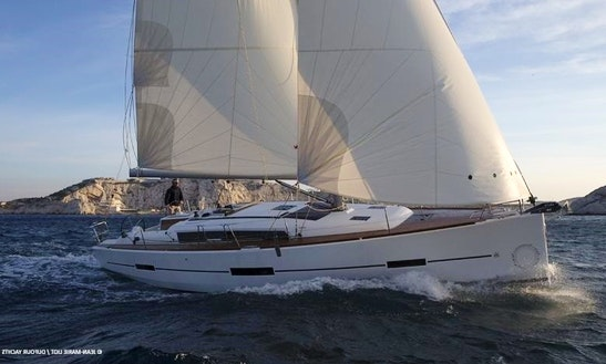 Charter A 41ft Dufour Grand Large In Marmaris, Turkey For 6 Person