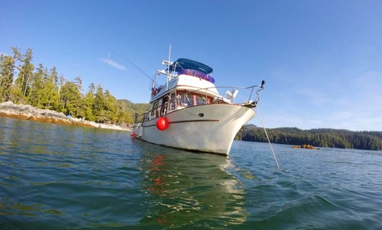 'the Oracle' Day Fishing Charter In Port Alberni