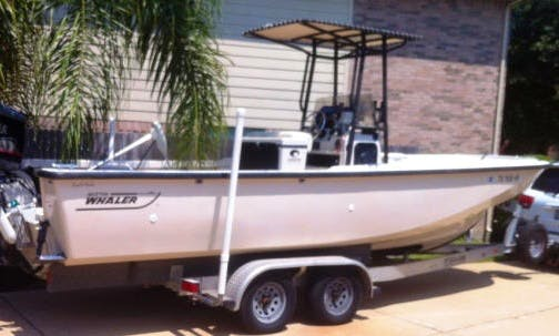 "Seabrook Fishing Charter On 25ft ""Guardian"" Boston Whaler"