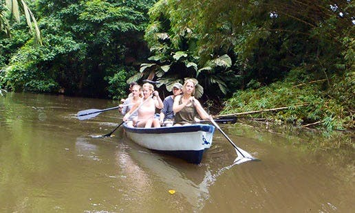 Canoe Tour On the Canals of Tortuguero