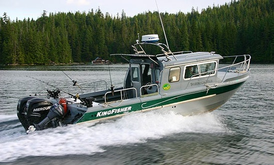 19' Cuddy Cabin Charter In Thorne Bay, Alaska