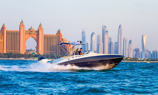 Luxury Blue-bowrider Charter In Dubai, United Arab Emirates