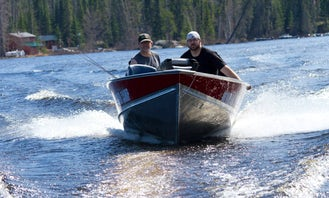 Ultra Deluxe Sylvan 30 Hp Fishing Boat for 3 Awesome Person in Ontario, Canada
