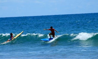 Surf Lesson and Board Rental In San Carlos