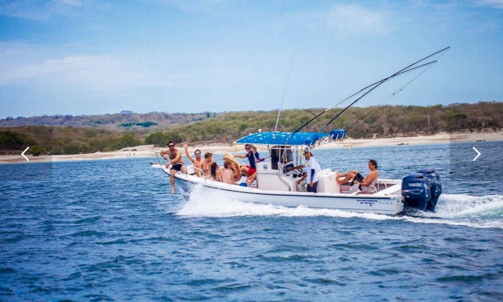 28ft y knot super panga boat fishing charter in punta de for Delaware fishing charters