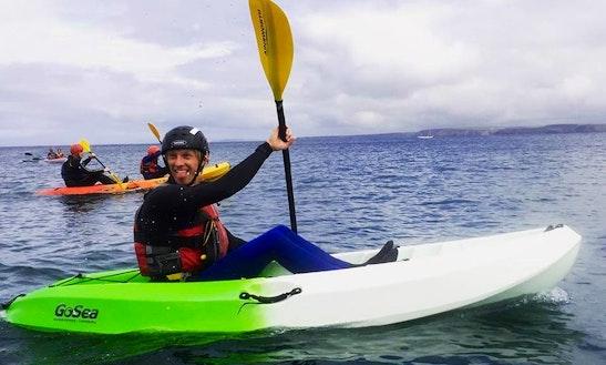 Kayaking Tour In Newquay