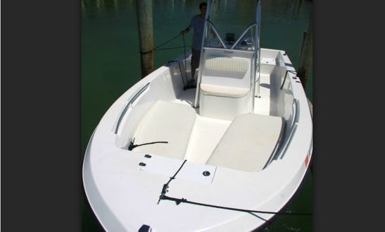 Enjoy Islamorada, Florida On 23' Angler Center Console
