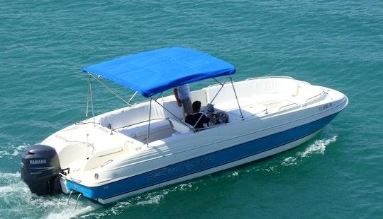 Rent 26' Deck Boat In Islamorada, Florida