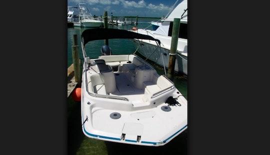 Enjoy Islamorada, Florida On 20' Deck Boat