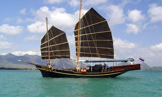 Enjoy Phuket, Thailand On Private Traditional Chinese Junk Schooner