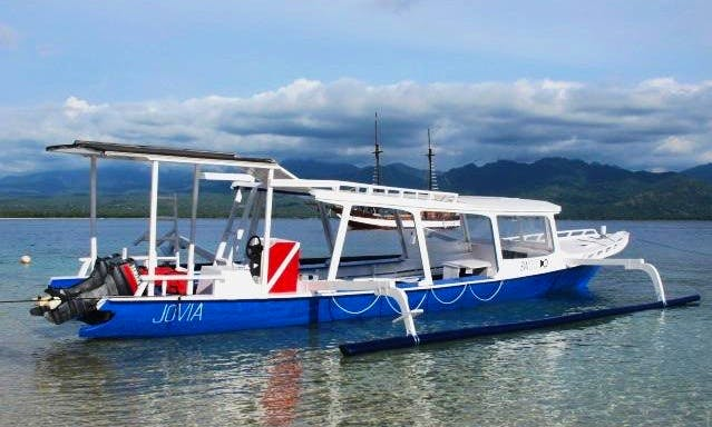 Diving Boat in Indonesia