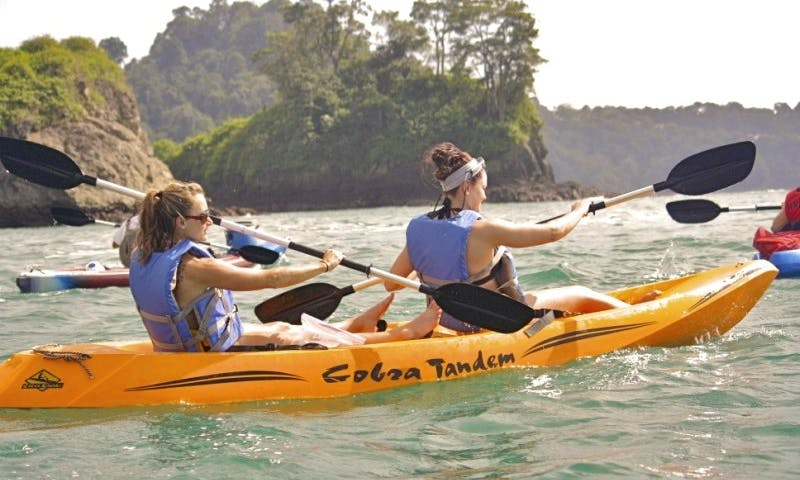 Ocean Kayaking In Costa Rica