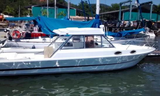 Deck Boat Rental In Paraty