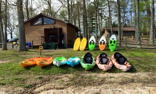 Tandem Kayak Rental In Morganton