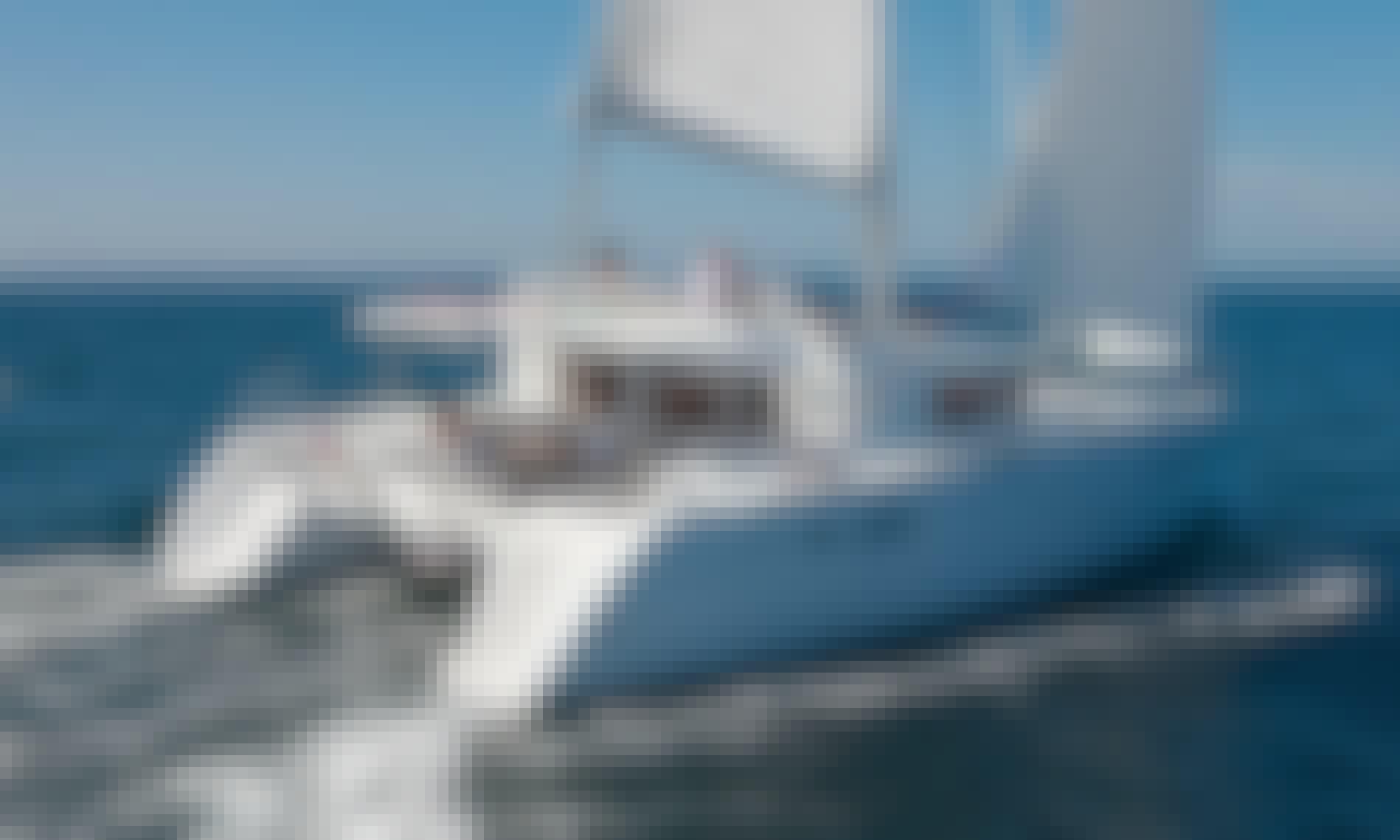 """Gorgeous 12 Person """"Double Trouble II"""" Lagoon 450 Catamaran for Charter in Bibinje"""
