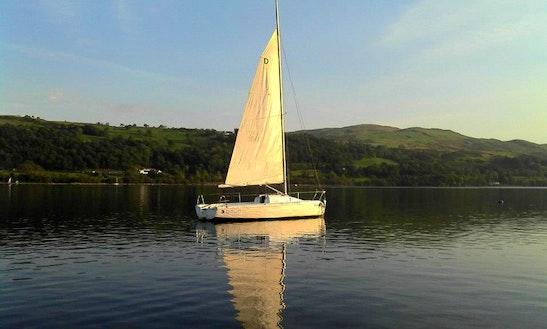 'branwen' Daysailer Boat Trip In  Bala Lake