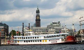Charter Bucket-Wheel Steamer In Hamburg