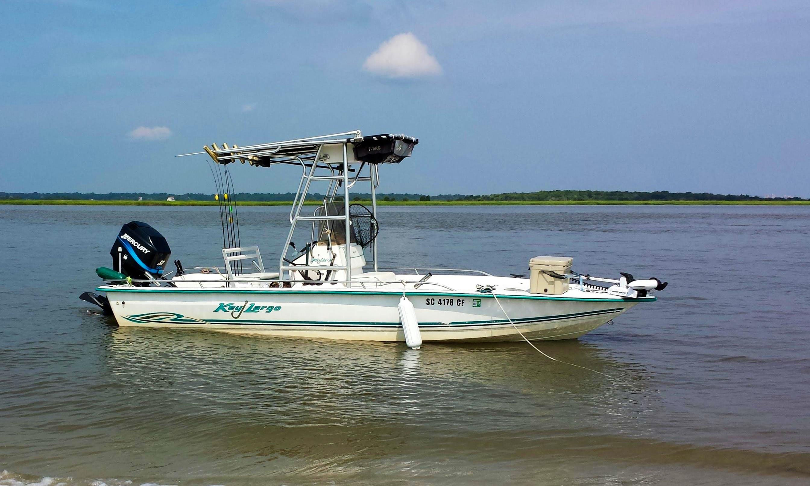 21' Key Largo Fishing Boat in Mount Pleasant, South Carolina