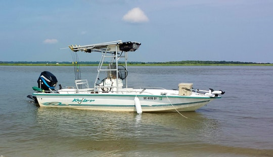 21' Key Largo Fishing Boat In Mount Pleasant, South Carolina