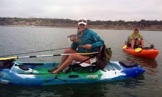 Jackson Fishing Kayak Rental In Canyon Lake
