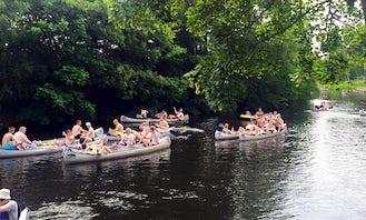 Canoe Rental in Bjerringbro, Denmark