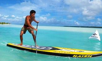 Paddleboard Rental in Ngatangiia District Rarotonga, Cook Islands