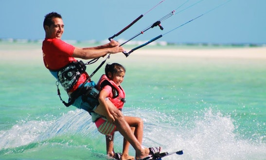 Kitesurfing Lessons In Ngatangiia District Rarotonga, Cook Islands