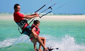 Kitesurfing Lessons in Ngatangiia District Rarotonga, Cook Islands