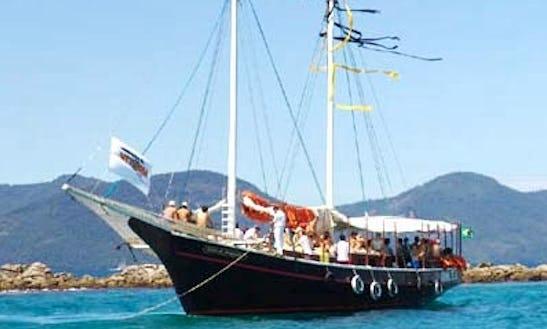 Charter A 80' Schooner In Rio De Janeiro, Brazil