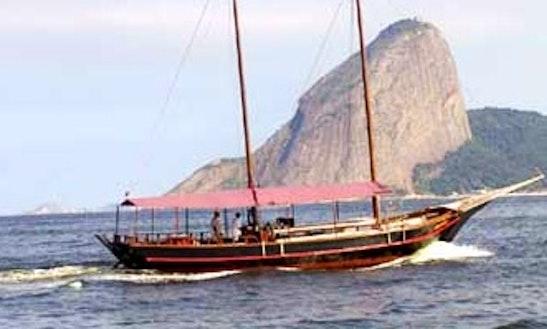 50' Schooner Charter For 60 People In Rio De Janeiro