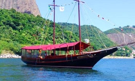 70' Schooner Charter For 120 People In Rio De Janeiro