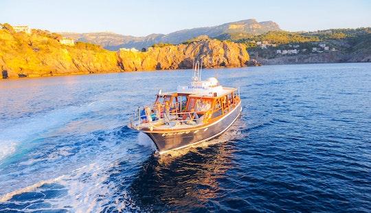'calobra' Boat Charter & Trips In Port De Sóller