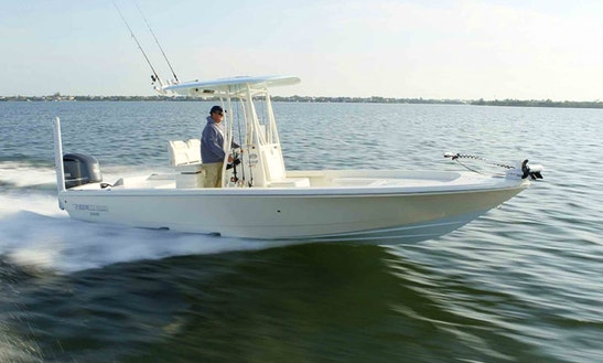 Fishing Charter On 22' Pathfinder Bay Boat In Fort Myers Beach, Florida