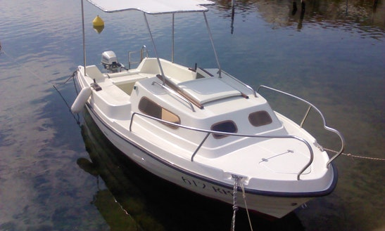 Adria-500 Deck Boat Charter In Vodice