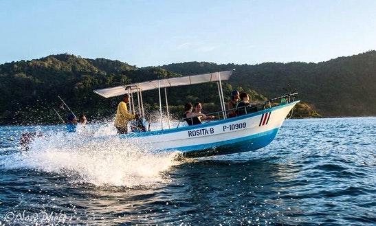 'rosita' Boat Fishing Charter & Tours In Playa Malpais
