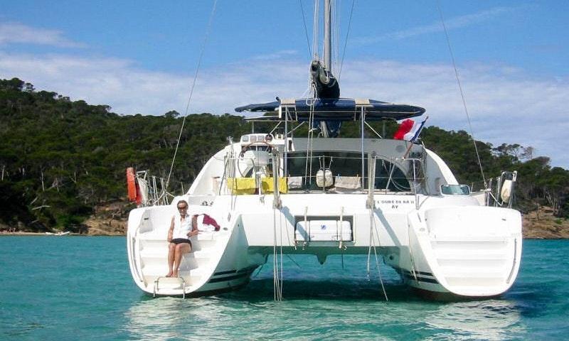 Poe Maia Lagoon 380 Catamaran Charter In Pape Ete