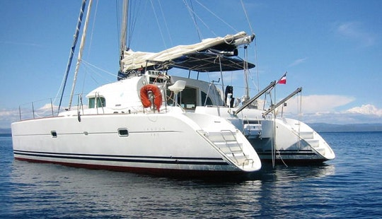 'bella Blue' Lagoon 380 Catamaran Charter In Pape'ete