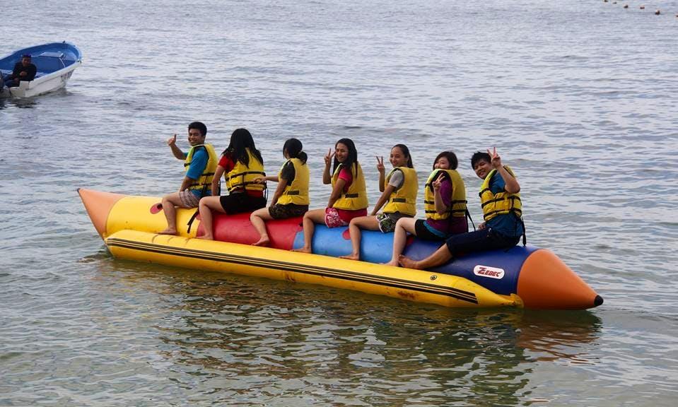 Banana Boat in Turi Beach